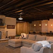 Black Ceiling Basement by 71 Best Basement Rustic Images On Pinterest Architecture