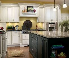 pictures of white kitchen cabinets with island white kitchen with black island cabinets decora