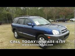 2006 hyundai santa fe gls 2006 hyundai sante fe review gls for sale ravenel ford