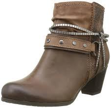 wide biker boots jana women u0027s 25319 biker boots brown mocca comb 312 women u0027s shoes