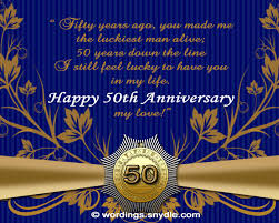 greetings for 50th wedding anniversary 50th wedding anniversary messages wordings and messages