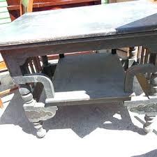 antique spindle leg side table antique side table with spindle legs vintage bedside table antique