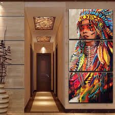 native american feathered beauty canvas fancota native american feathered beauty canvas