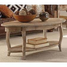 Oval Wood Coffee Tables Alaterre Rustic Reclaimed Wood Oval Coffee Table Free Shipping