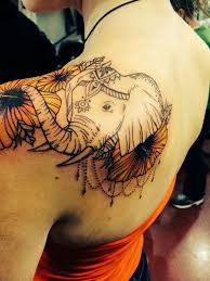 Tattoos On Shoulder For - 85 best elephant tattoos for and