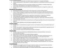 Resume Self Employed Sample Resume Description Self Employed Free Resume