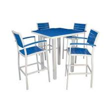 Patio Bar Furniture Set by Bar Height White Bar Height Dining Sets Outdoor Bar
