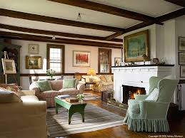 the living room in elinor earle u0027s candle light cottage in the