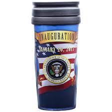 president and vice president pence inaugration travel mug