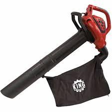 Blower Vaccum King Canada Electric 3 In 1 Blower Vacuum And Mulcher