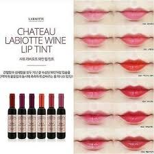 chateau labiotte wine lipstick cr02 chateau labiotte wine shape lasting lip tint with wine