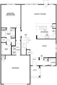 Georgetown Floor Plan Plan A 2502 Modeled U2013 New Home Floor Plan In La Conterra By Kb Home