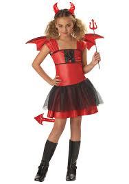 girls little red devil costume devil halloween costumes for kids