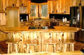 hickory kitchen cabinet hardware rustic kitchen cabinet rustic kitchen with cherry wood cabinets