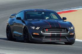 Blue Mustang Black Stripes 2016 Ford Shelby Gt350 Mustang Review