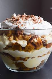 thanksgiving trifle work cook eat