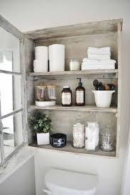 Rustic Bathrooms Ideas Bathroom Rustic Diy Built In Bathroom Storage Diy Rustic