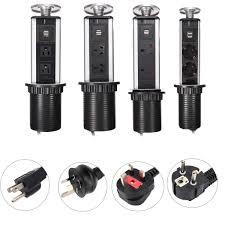 worktop kitchen tensile power outlet usb pop up socket eu au uk 2
