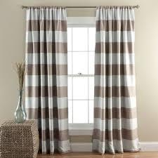stripe blackout window curtain set lush décor www lushdecor com