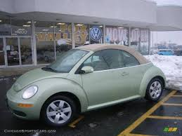green volkswagen beetle convertible 2007 volkswagen new beetle 2 5 convertible in gecko green metallic