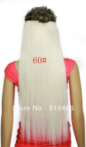 white hair extensions online cheap 24inch 60cm 666 white clip in on hair extensions