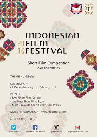 film layar lebar indonesia 2016 iff australia indonesia youth association