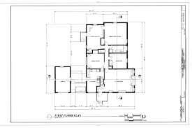 file first floor plan conrad and nellie warren residence