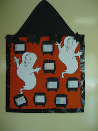 halloween bulletin board the friday class