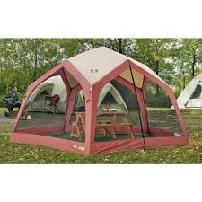 Gazebo Screen House by 14x14 U0027 Pentagon Screen House Maroon 89905 Backpacking Tents At