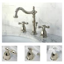 Polished Nickel Bathroom Fixtures Polished Nickel Widespread Bathroom Faucet Free Shipping Today