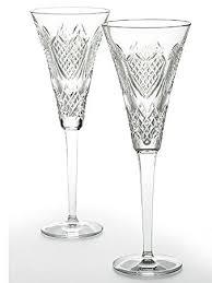 waterford wedding heirloom flute pair