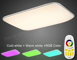 Changing Ceiling Light 36w Modern Led Remote Dimmable Color Changing Ceiling Light For