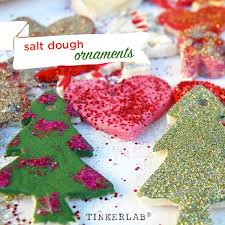 Baby Pink Christmas Decorations Salt Dough Christmas Ornaments And Decorations Tinkerlab