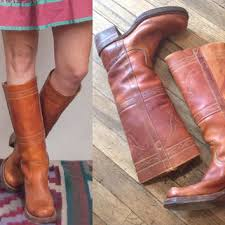 womens vintage cowboy boots size 9 womens vintage frye cus boots size 6 from rock couture