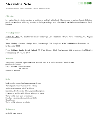Special Education Teacher Resume Examples 2013 by Early Childhood Educator Resume Best Resume Collection Resume