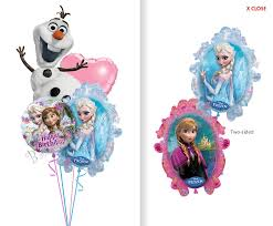 frozen balloons frozen birthday i balloon bouquet 4 balloons balloon delivery by