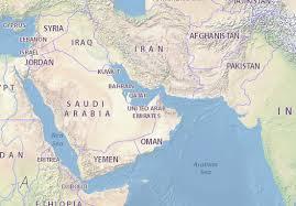 map arab map of united arab emirates michelin united arab emirates map