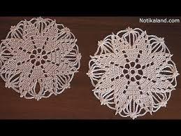 crochet doily snowflake tutorial part 1 сrochet сhristmas