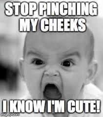 Cute Baby Memes - angry baby meme imgflip