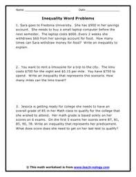 Quadratic Word Problems Worksheet With Answers Solving Word Problems In Algebra Is Easy If You The Key Steps