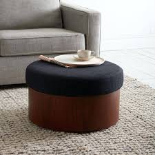 ottoman upholstered storage ottoman coffee table upholstered