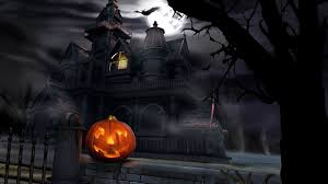 pixel halloween background wallpaper wallpaper halloween widescreen