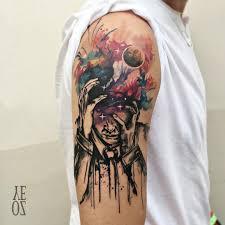 yeliz ozcan watercolor sketch tattoo inkppl tattoo magazine