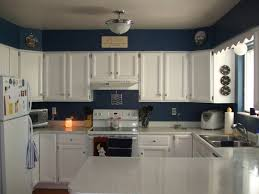 kitchen cabinet painting ideas pictures blue painted kitchen walls photogiraffe me