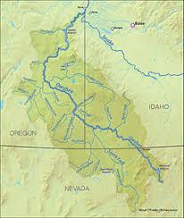 map of oregon nevada owyhee river