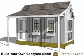 Plans To Build A Wooden Shed by 10x16 Shed Plans Diy Shed Designs Backyard Lean To U0026 Gambrel