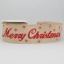 merry christmas ribbon 2 5 sparkle merry christmas ribbon 10 yards xe254