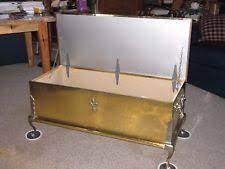 brass trunk coffee table brass trunk ebay