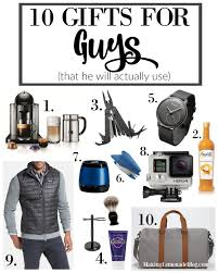 10 best gifts for guys that he ll actually use lemonade