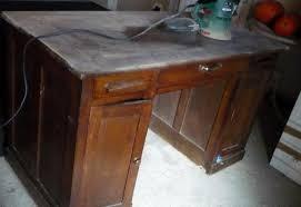 vieux bureau en bois la suite et fin du bureau pour l instant le de titanique